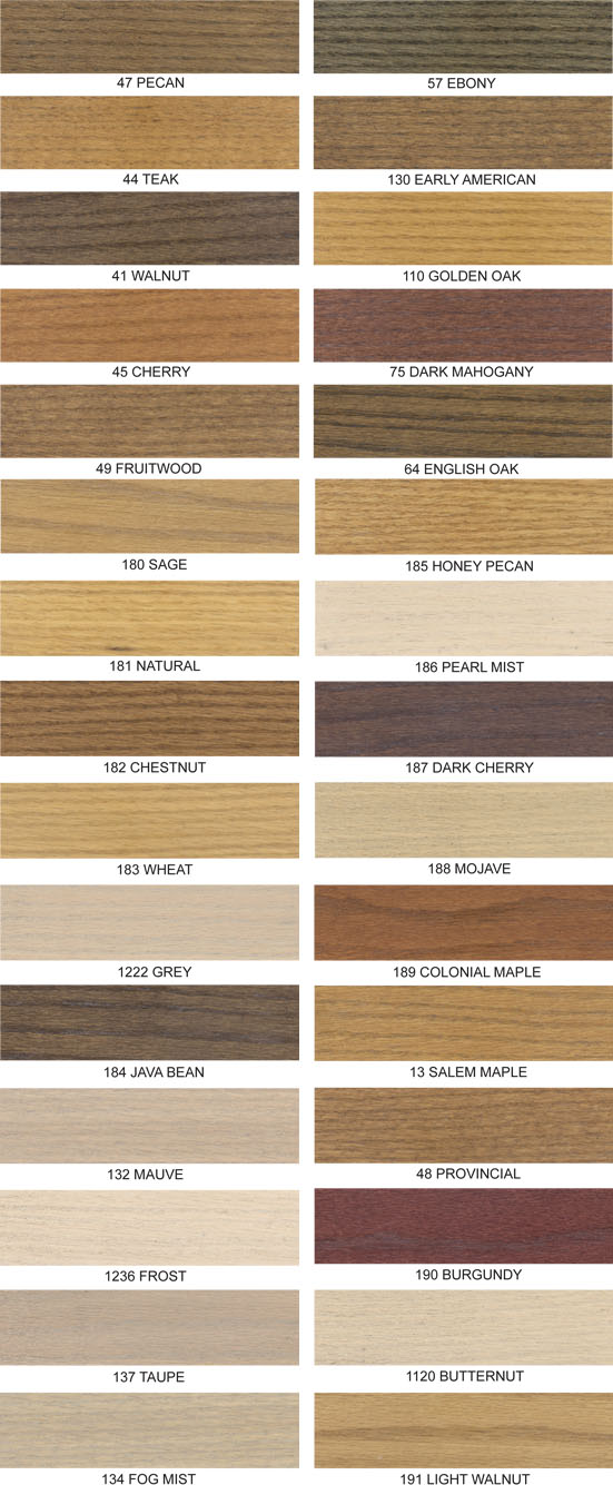 Daly 39 S Wood Finishing Products